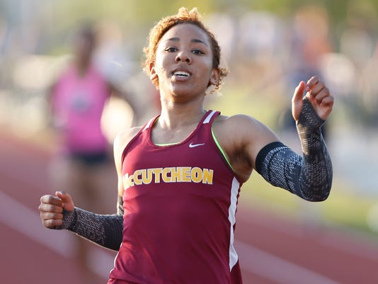 LAF West Lafayette win girls track sectional