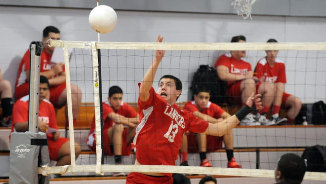 Greg Huebner and Lakeland have ascended to No. 1 in The Record boys volleyball Super Six for April 27.