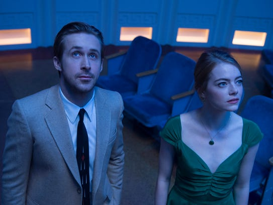 "Oscar favorite ""La La Land"" stars Ryan Gosling and"