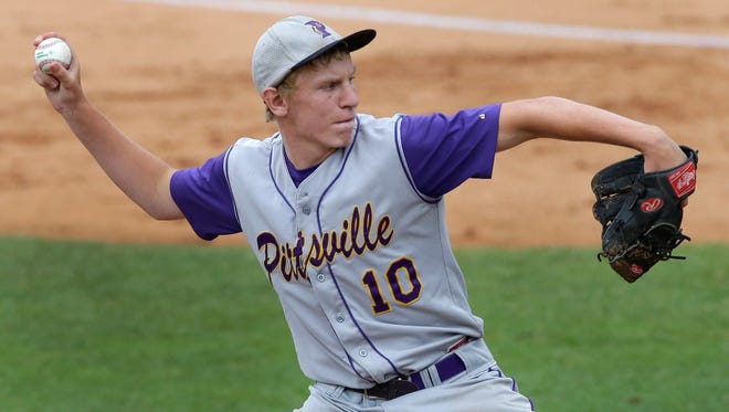 Pittsville junior Paul Downs, was a big part of the Panthers' WIAA state baseball tournament appearance last year. He will be one of the team leaders on the 2015 squad.