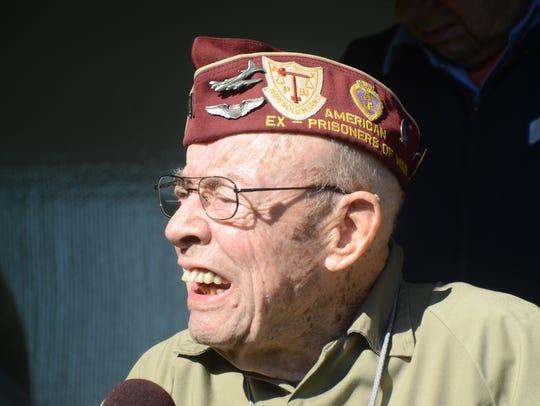 Former Prisoner of War Larry Jenkins of Battle Creek.