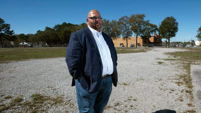 Ronnie Rivera,president and CEO of the Jim C. Downey Community Center, is trying to find a property in Myrtle Grove for a new community center.