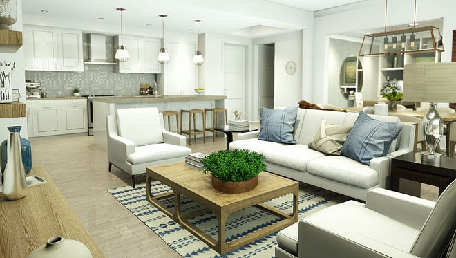The Ronto Group's Phase I offering at Eleven Eleven Central on Central Avenue between 10th Street and Goodlette-Frank Road in downtown Naples includes five light-filled open-concept floor plans. Pre-construction pricing starts in the mid $500,000's.