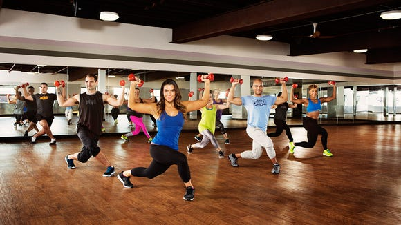Crunch Live brings the fitness class straight into your living room.