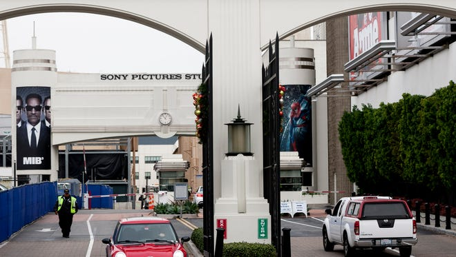 Sony Pictures Entertainment studio lot in Culver City, Calif.