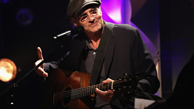 Singer-songwriter James Taylor performs during iHeartRadio ICONS with James Taylor presented by P.C. Richard & Son at iHeartRadio Theater on June 22, 2015 in New York City.