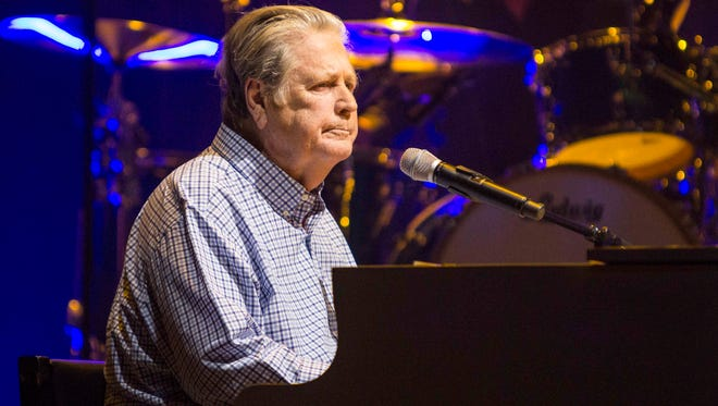 Brian Wilson of the Beach Boys will perform a benefit concert for Alzheimer's research April 28 at Thalia Mara Hall in Jackson.