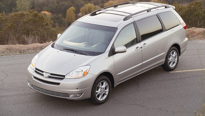 2004 Toyota Sienna XLE Limited is among the vehicles being recalled