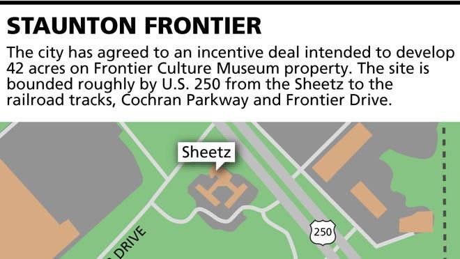 Staunton Frontier map