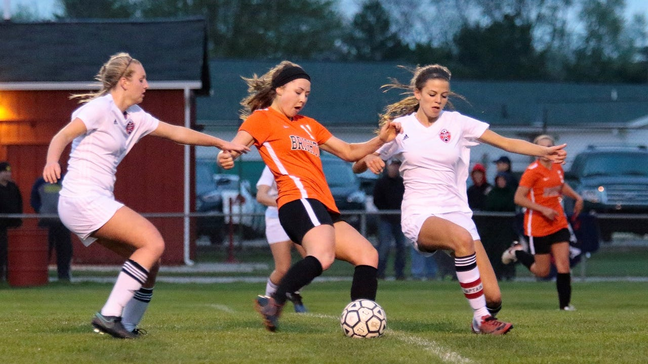 Lara Wheeler of Grand Blanc scored in the first half and Kayla Foran of Brighton scored with 28:06 left in the game to create a 1-1 tie between two state-ranked teams.