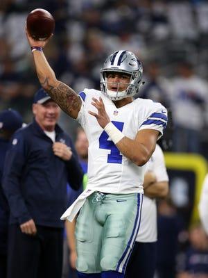 The Dallas Cowboys and quarterback Dak Prescott will host the New York Giants at AT&T Stadium to open the 2017 season.