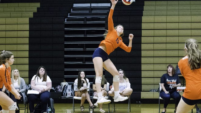 Rochester High School's Grace Petty is The State Journal-Register's Large School Volleyball Player of the Year.