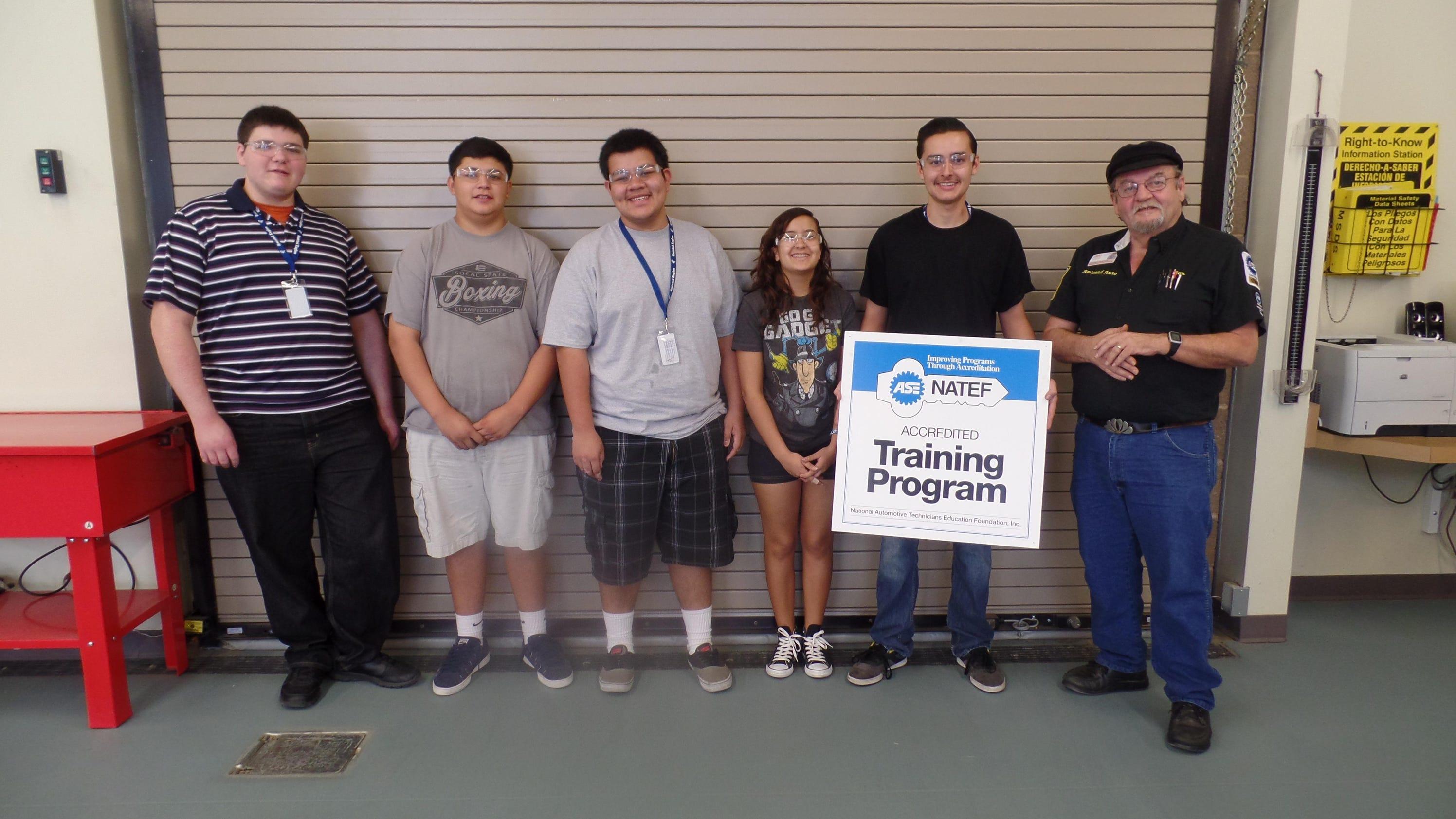 Amistad highs auto program earns accreditation xflitez Images