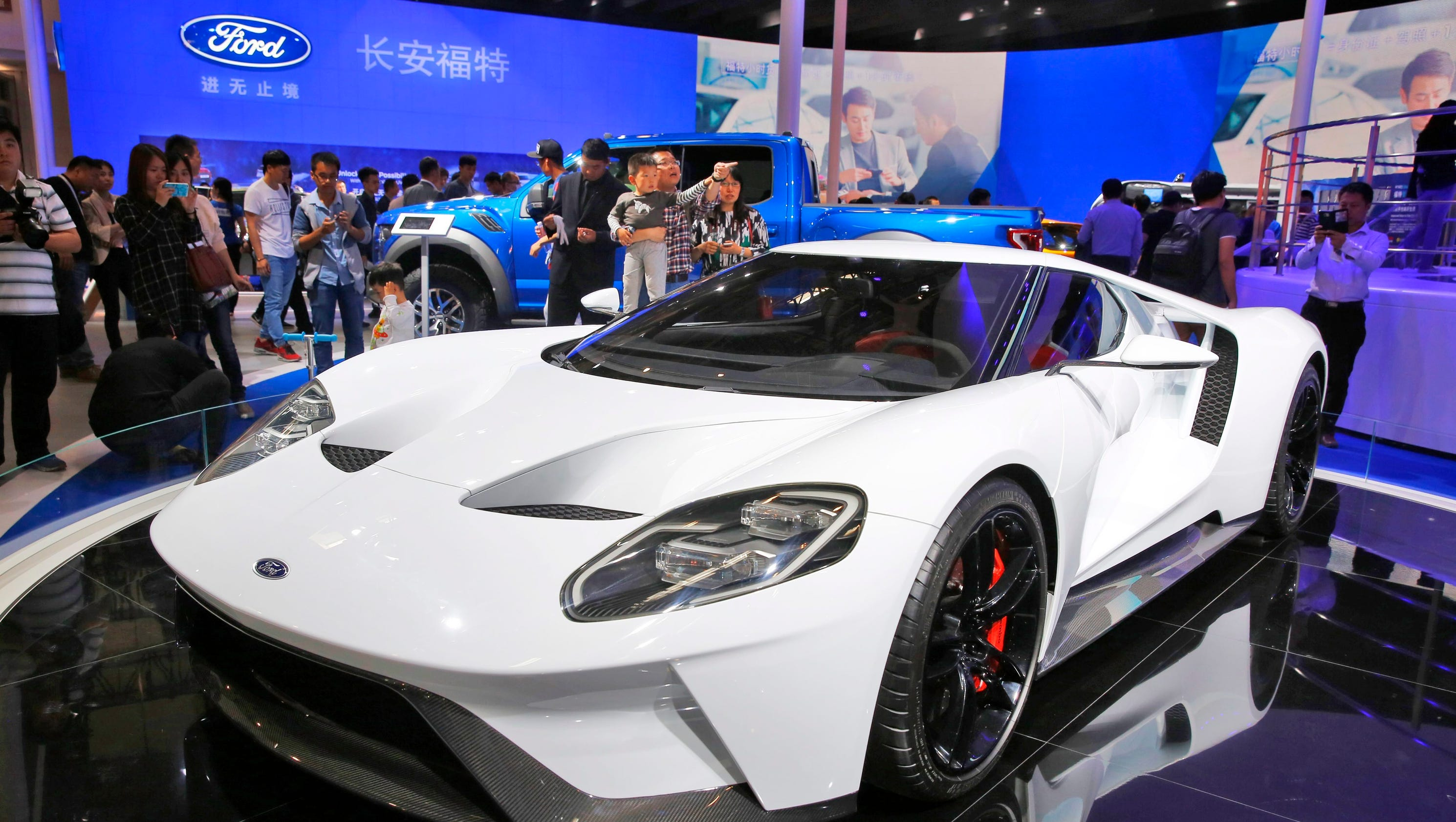 Ford Sales In China Rose In - 2016 ford vehicle lineup