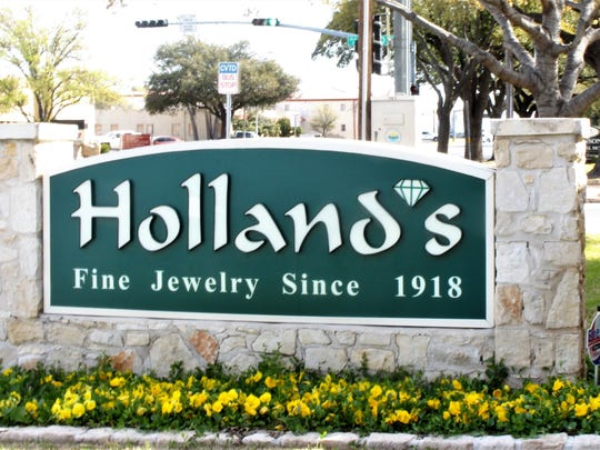Holland's Jewelry Co. is celebrating 100 years of business in San Angelo in 2018.