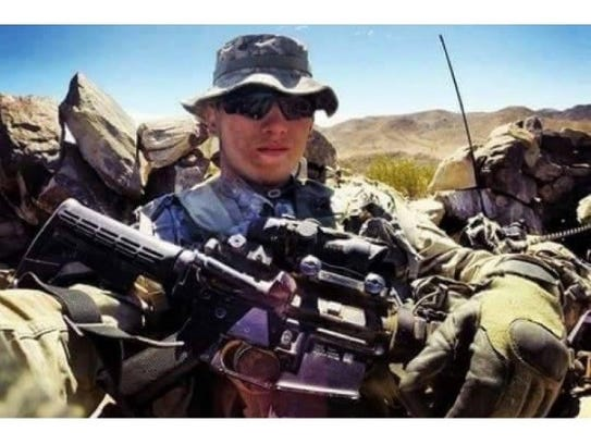 Army Sgt. Tyler McGibbon will be one of three grand
