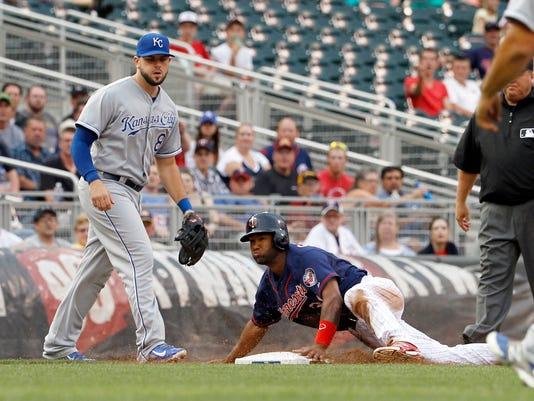 Royals Twins Baseball