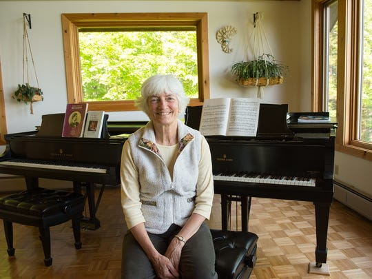 "Pianist Sylvia Parker takes part in ""An Evening of"