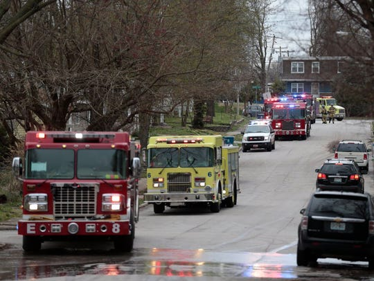 The Springfield Fire Department has responded to three