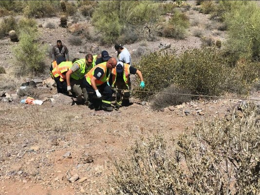 Superstition Fire and Medical District crews assist