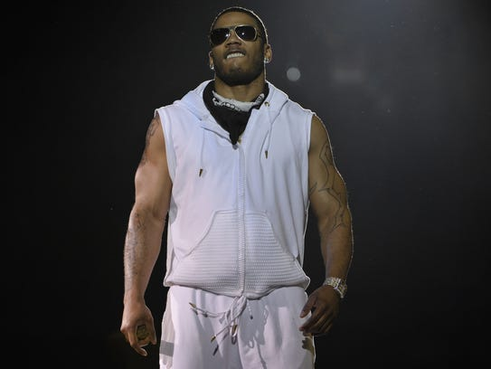 Rapper Nelly performs Friday night at the Palace of