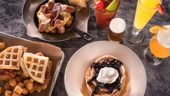 World of Beer offers a Sunday brunch that comes with