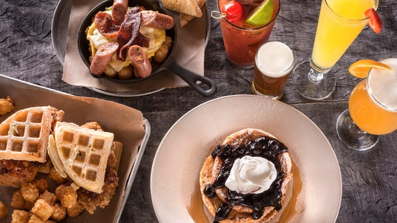 World of Beer offers a Sunday brunch that comes with an unlimited drink special with the purchase of an entree.