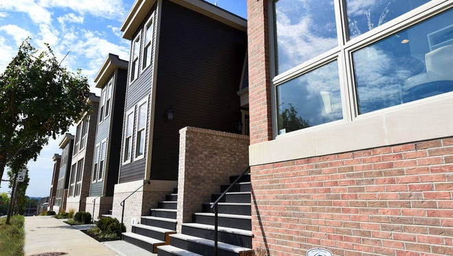 A photo of the Hickory Place Townhomes built in Avondale.
