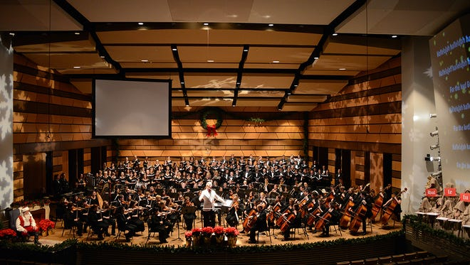 CSU's annual holiday spectacular featuring performances by the University Symphony Orchestra and combined choirs, will take place Dec. 3 and 5.