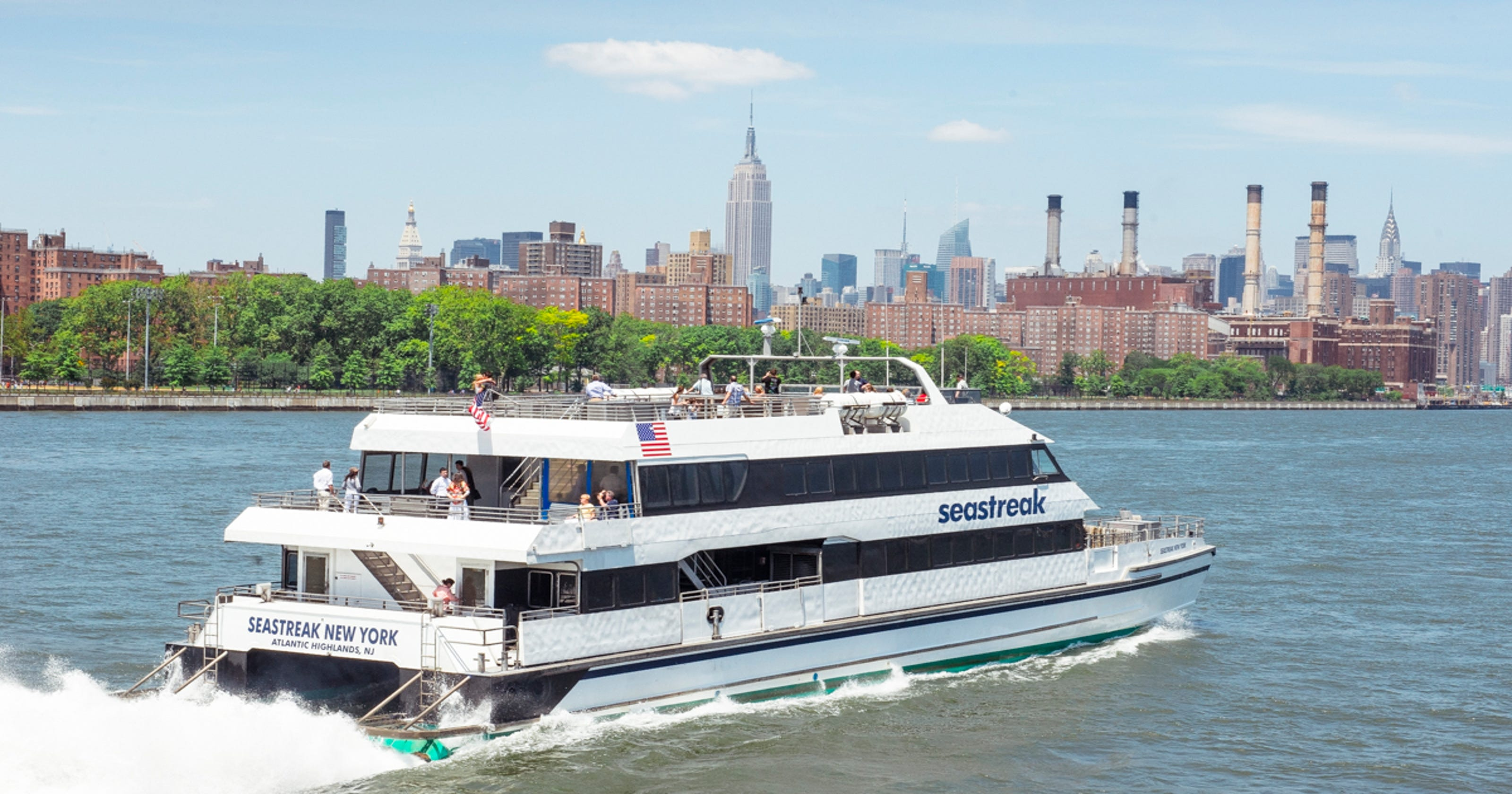 new seastreak 'luxury' ferry coming in 2017