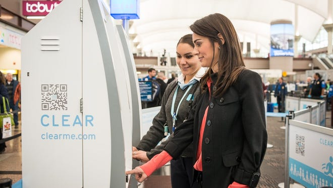 CLEAR uses biometric technology to ID passengers.