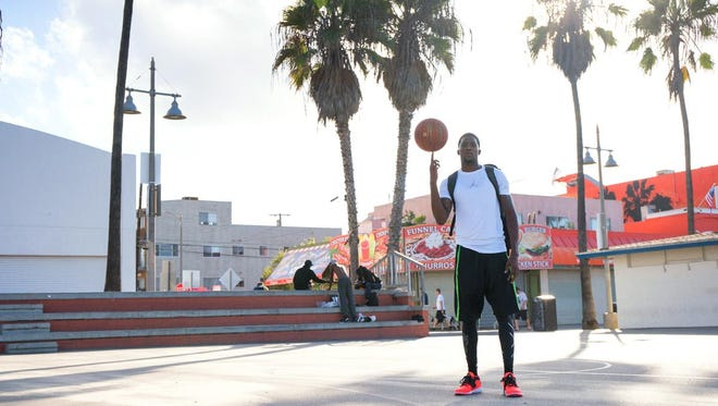 Former SC4 basketball player Kieon Arkwright.