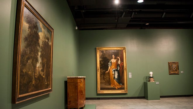 A sneak peek at a gallery in the Gregory Allicar Museum of Art at Colorado State University.