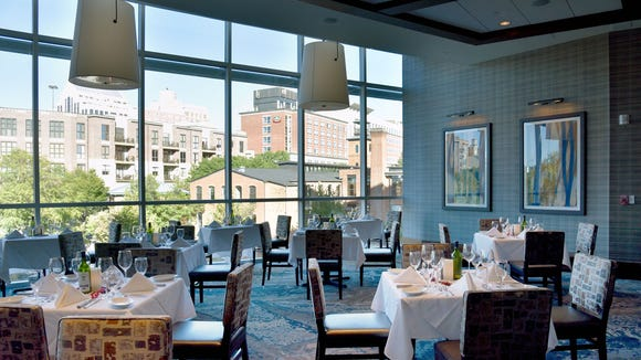 Greenville's second Ruth's Chris Steak House, located at Embassy Suites downtown, is now open.