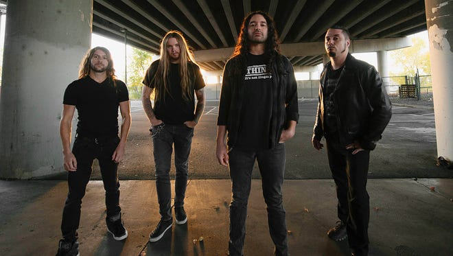 """Touring in support of its new disc """"Conformicide,"""" the Denver thrash band Havok performs Saturday night at the Top Deck in Farmington."""