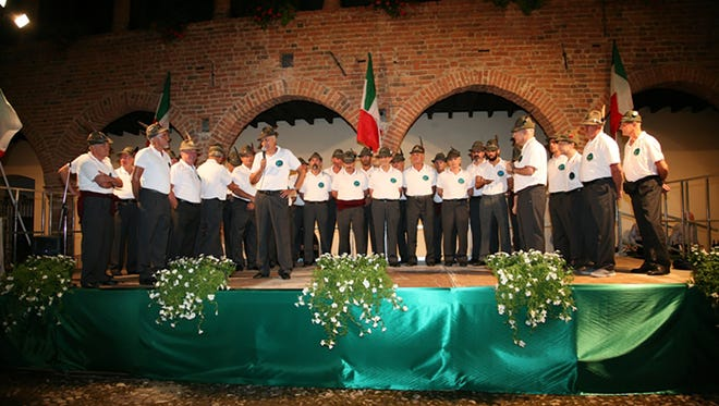 The Alpine Male Chorus of Valtidone (Italy) will make its only appearance outside of New York City on Saturday, Oct. 28, at Dunellen High School.The concert, which will also feature the school's madrigal singers, caps Dunellen's Founders Day celebration.  Photo courtesy of Alpine Male Chorus of Valtidone
