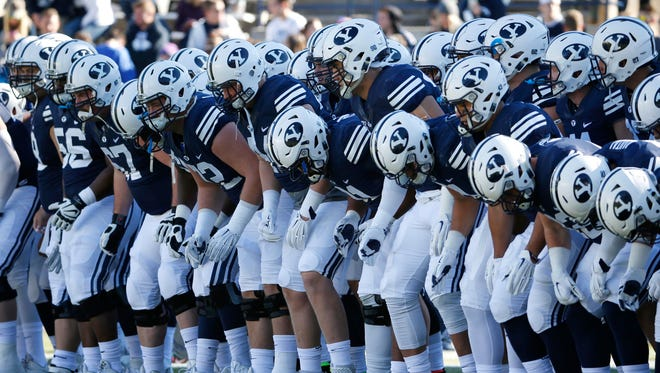 BYU's football team should be amply motivated today against Utah.