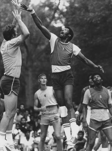 7-footer Jim McDaniels, formerly of Western Kentucky