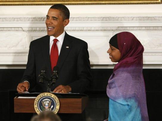 Barack Obama, Bilqis Abdul-Qaadir