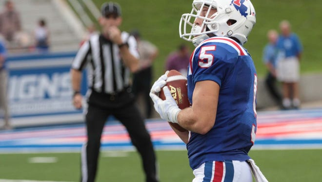 Louisiana Tech Bulldogs and the Southern Jaguars meet in football action at Joe Aillet Stadium in Ruston on Saturday.