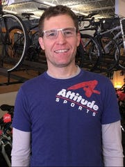 Dave Haase at Attitude Sports in Pewaukee, one of two stores he owns. The other store is in Fond du Lac.