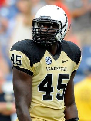 Former Vanderbilt linebacker Stephen Weatherly.