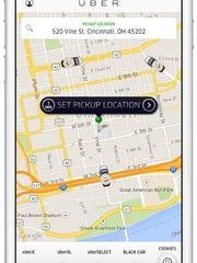 Ride sharing app, Uber, is offering on-demand cookies