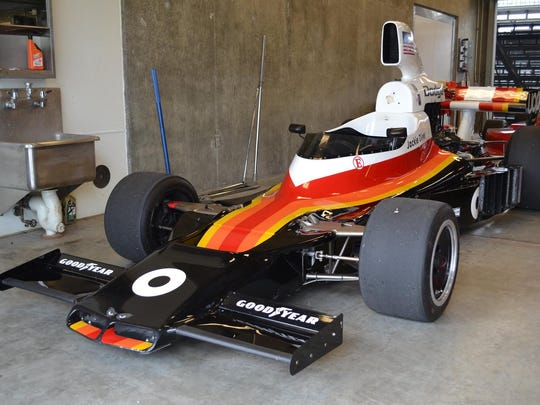 '70s F1 star Jackie Oliver drove this car, called the Shadow.