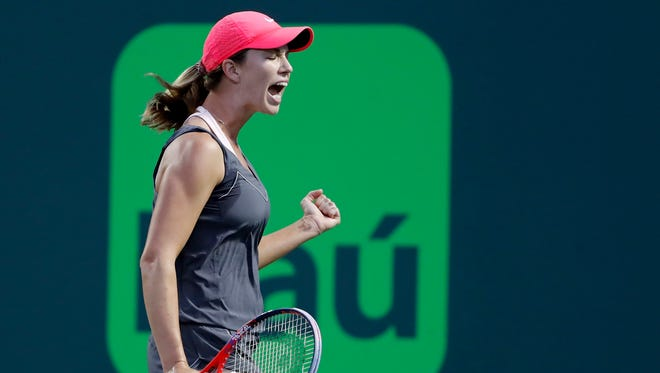 Danielle Collins will more than double her career earnings by reaching the Miami Open semifinals.