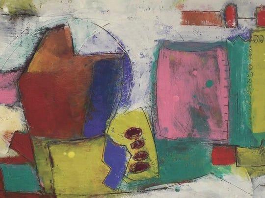 Terri Corbett's encaustic among trio of artists showing at LeMoyne.