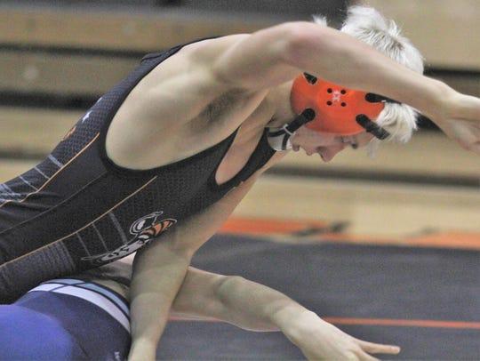 Ryle senior Shay Horton battles Boone County sophomore