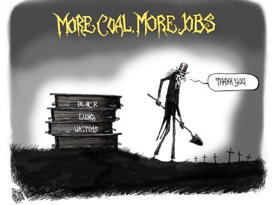 More coal, more jobs