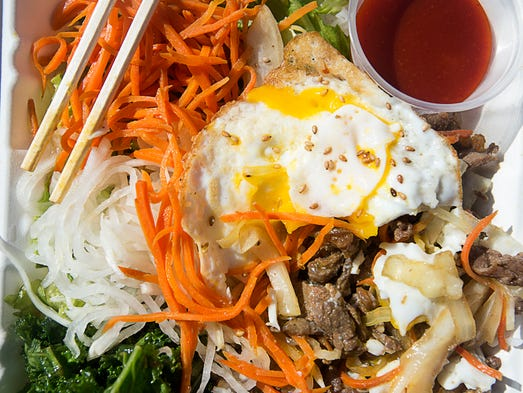 Korean Fried Rice With Egg Food Truck