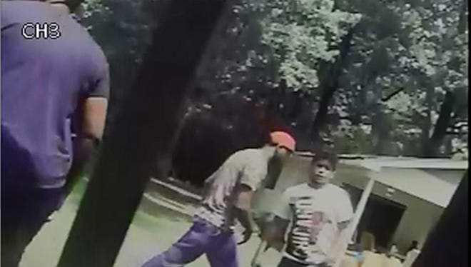 These men were caught on camera during an alleged house burglary. Do you know them?